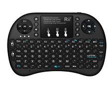 *Genuine Riitek* Rii Mini i8+ 2.4GHz Black Wireless Keyboard Backlit - UK LAYOUT