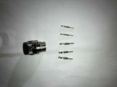 Attachment Side Genius 7 Pin Male Connector for Bobcat Skid Steer Loaders