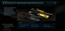 Star Citizen Standalone Ships - DRAKE DRAGONFLY RIDE TOGETHER PACK - LTI