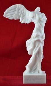 temor Generalizar frio  Nike de Samotracia estatua griega Blanco 7,5 pulgadas Seguimiento De Envío  Gratis | eBay