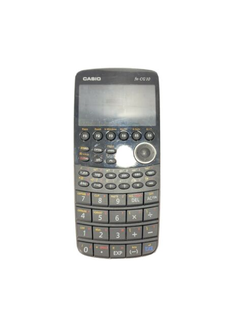 Casio fx-CG10 Graphic Calculator No Cover