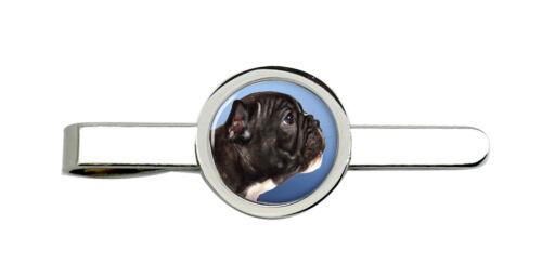 French Bulldog profile Tie Clip