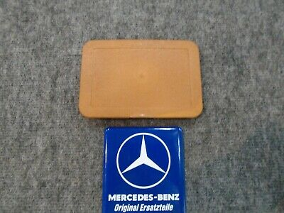 450SL MERCEDES-BENZ OEM FACTORY TAN FUSE BOX COVER | eBay | 1980 Mercedes 450sl Fuse Box |  | eBay