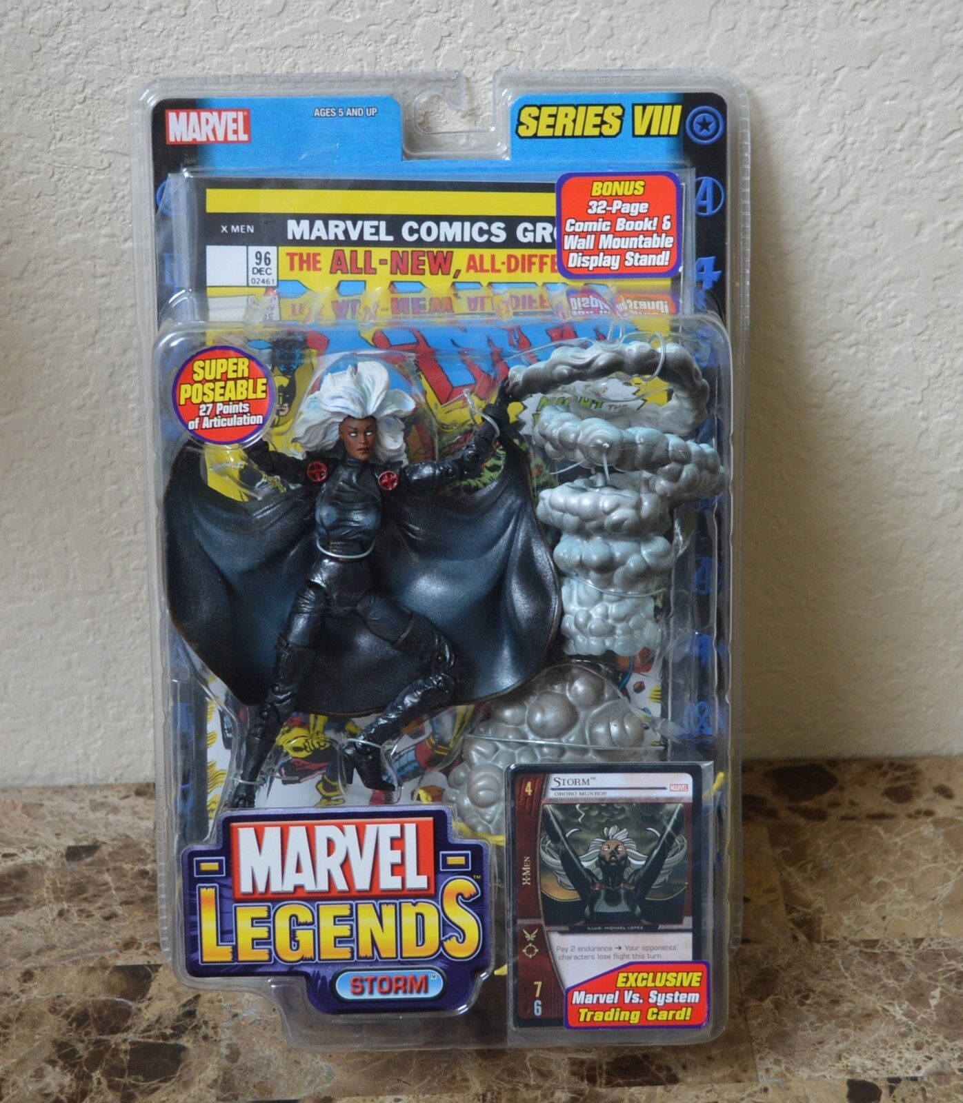 MARVEL LEGENDS STORM SERIES VIII 8 TOYBIZ NIB NEW X-MEN Action Figure