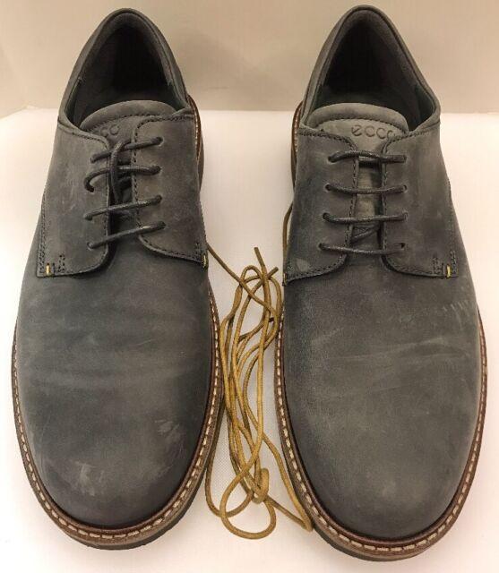 ostaa halpaa Sells kauneus Ecco Men 13 13.5 US 47 EU Ian Tie Lace Oxfords Plain Toe Moonless Grey Gray  Shoe