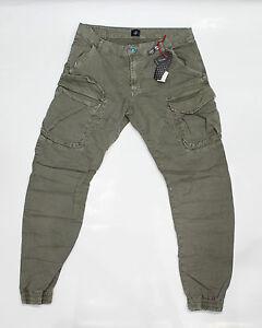 Caricamento dell immagine in corso LOFT1-Pantalone -Uomo-Tasconi-con-Molla-Verde 12527a372ec