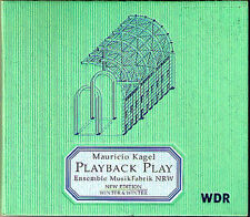 Mauricio KAGEL Playback Play From the Music Fair Radio Piece WINTER & WINTER CD
