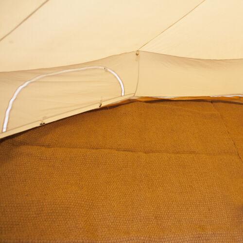 5m 4m Bell Tent Matting 6m By Bell Tent Boutique Coir Half Moon 3m