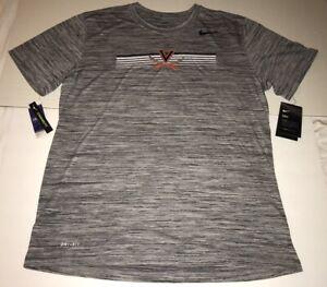 New Nike Men's Virginia Cavaliers UVA Legend Velocity Shirt Dri-Fit Large $35