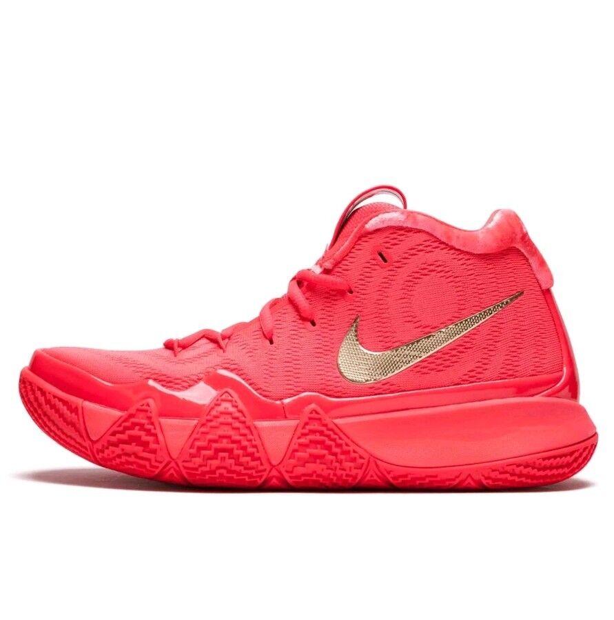 Nike kyrie 4 4 4 rote - teppich - mens größe 14 (943806-602) rote orbit metallisches gold e2e8c1