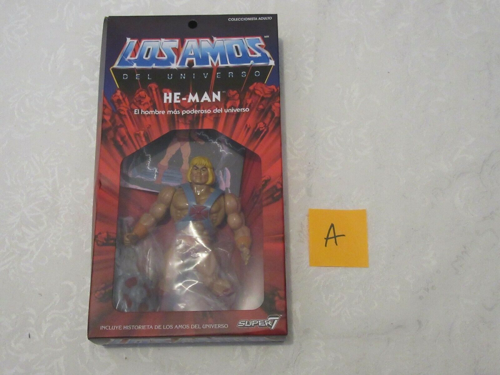Super7 Masters of the Universe Classics Vintage Los Amos Mexico 2019 He-Man A