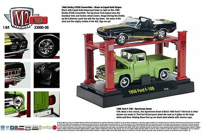 1968 SHELBY, 1956 FORD F100 WITH LIFT M2 MACHINES 1:64 ...1956 Ford F100 Lifted