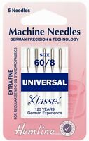 Sewing Machine Needles Universal Metalfil Ball Point Twins Stretch Jeans Choose