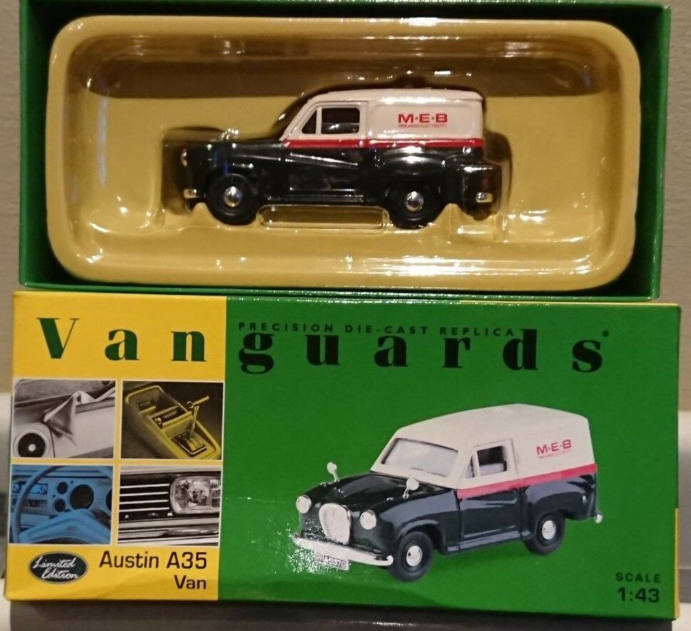 Corgi VA01706 Austin A35 Van MEB Ltd Edition No. 1674 1674 1674 of 4100 0a3035