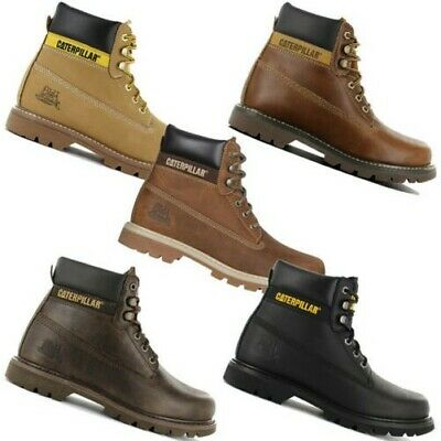 Cat caterpillar Colorado 6 Inch Boots Men's Leather Winter Boots Winter Shoes | eBay