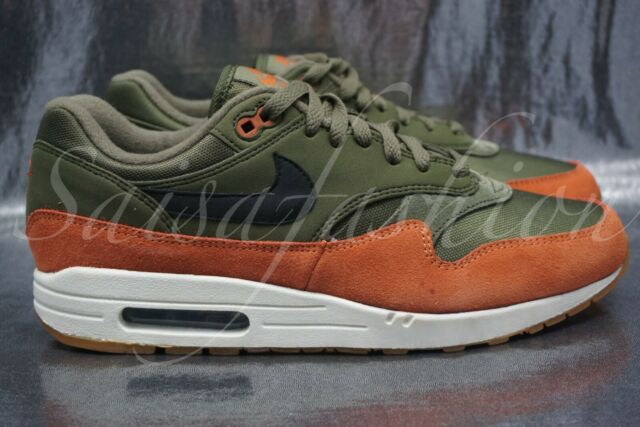 super popular f8f08 de244 Frequently bought together. Nike Air Max 1 Olive Canvas Black Dark Russet  ...
