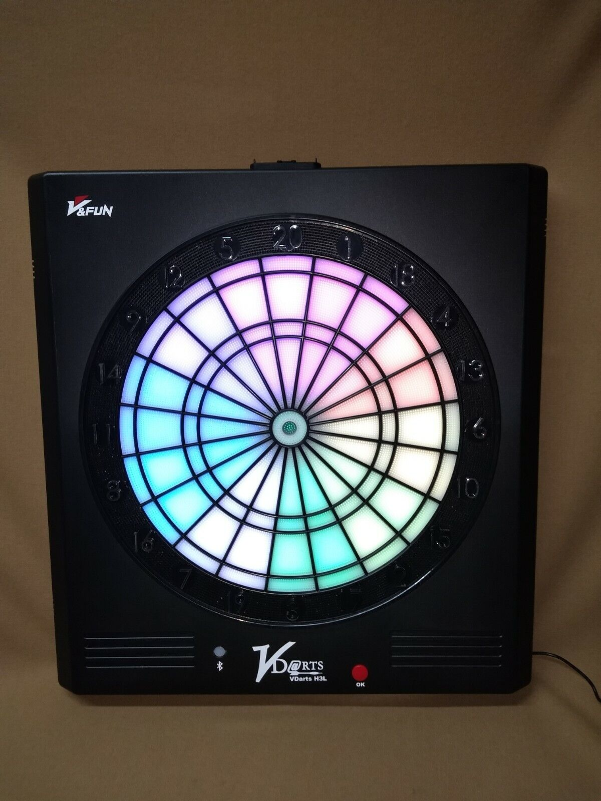 Vdarts Smart LED Global Online H3L Electronic Soft Tip Dartboard w FREE Shipping