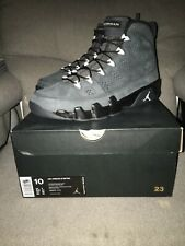 separation shoes 0dd50 9688f item 1 Nike Air Jordan 9 IX Retro Anthracite Dark Grey White 302370-013 Sz  10 -Nike Air Jordan 9 IX Retro Anthracite Dark Grey White 302370-013 Sz 10