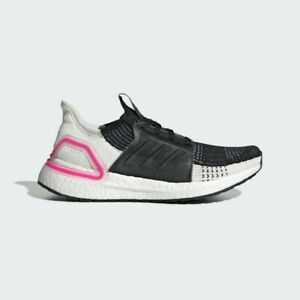 Vendedor espontáneo agrio  Adidas Women's UltraBOOST 19 Running Shoes Womans SIZE 11.5 White Pink/  Black | eBay