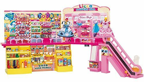 JAPAN Takara Tomy Licca Chan Doll  Self Register Shopping Mall w//Tracking# F//S
