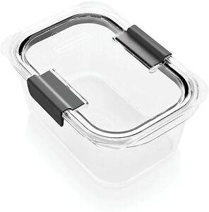 Rubbermaid Brilliance Food Storage Container Medium Deep 4 ...