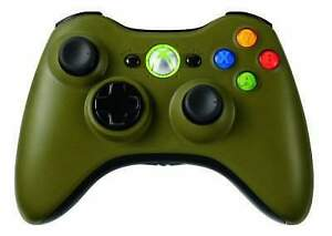 Halo-3-Limited-Edition-Microsoft-Xbox-360-Controller-Olive-Green