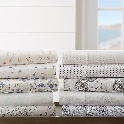 Seasonal Designs Linen Market Ultra Soft Patterned Flannel Bed Sheet Set