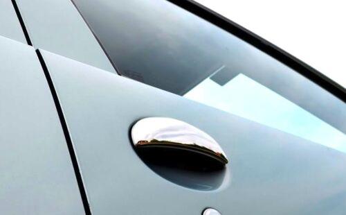 CROMATI CROMO CROMATE COPRI MANIGLIE PORTE per PEUGEOT 206 CC GTI S16 RC GT 206+