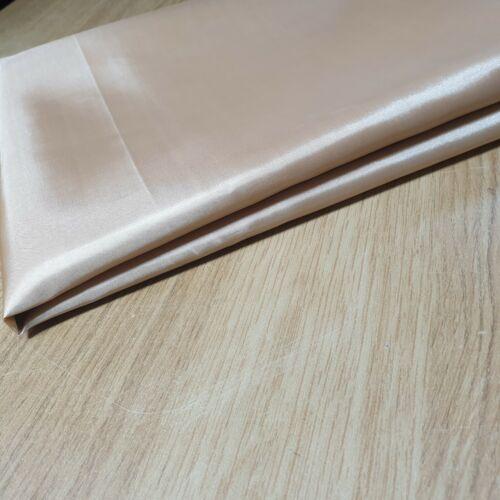 Habotai BEIGE Dress Skirt JACKET Anti Static Lining Decor Fabric 150cm
