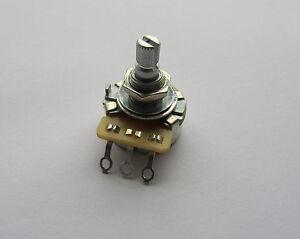250k cts guitar linear pots split shaft potentiometer b250k ebay. Black Bedroom Furniture Sets. Home Design Ideas