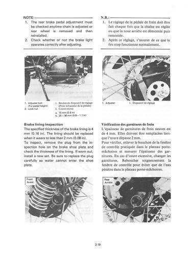 yamaha qt50 ma50 service repair workshop manual 1979 1992