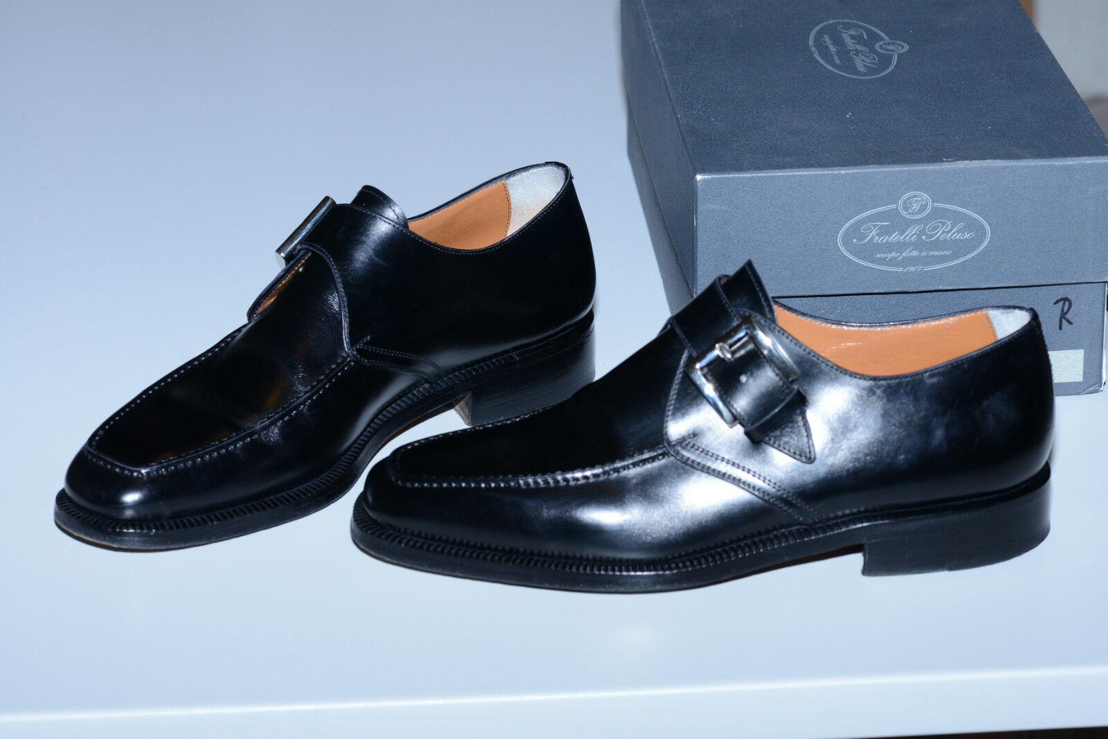 marchio famoso Scarpe Fratelli Peluso Mocassini neri neri neri Pelle di vitello  economico in alta qualità