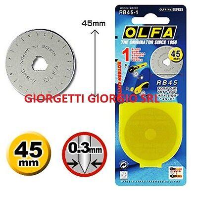 LAMA RICAMBIO 45mm per taglierino Rotante Olfa Prym art 611372
