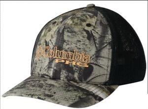5870ccb0 Details about Columbia Men's Camo Mesh Hat Cap Mossy Oak Mountain L/XL  FlexFit (HU9172-902)