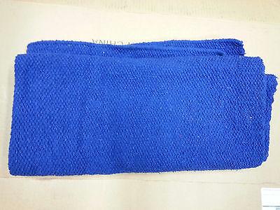 MAYATEX 36X34 Oversize SHOW SADDLE BLANKET PAD ROYAL BLUE HORSE TACK