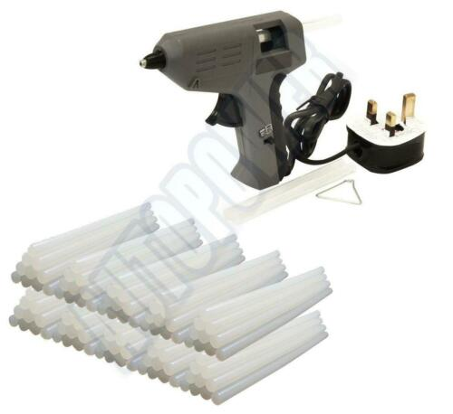 Handy Toolbox High//Low Temp Hot Glue Gun Mini With Stand Include Glue Sticks