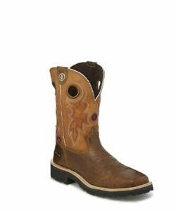 1d488a9f5f0 Details about Tony Lama Men's 3R Comanche Waterproof Work Boot Composition  Toe - RR3300