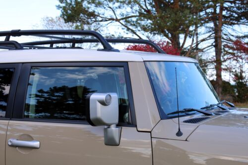 """2002 Jeep Liberty 15/"""" Black Spring Stainless AM//FM Antenna Mast Fits"""