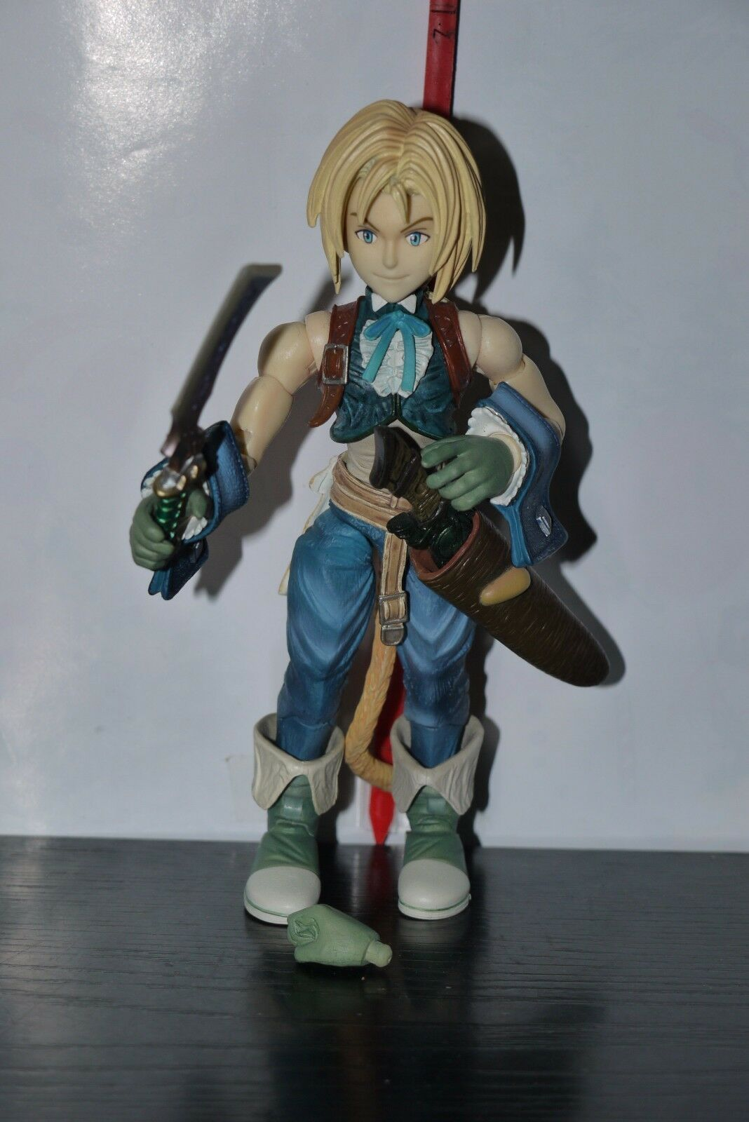 Final Fantasy IX Play Arts Zidane Tribal Figure Square Enix Enix Enix 1f8