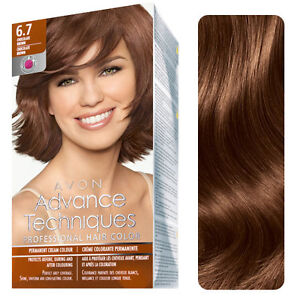 3 x Advance Techniques Professional Hair Colour 7.73 Caramel Blond ...