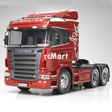 Tamiya 1:14 Tractor Trucks Scania R620 6x4 Highline EP RC Car On Road #56323