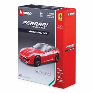 1-43-Ferrari-Carrera-Y-Jugar-Juguete-Kit-de-coche-Assembley-Diferentes-Modelos