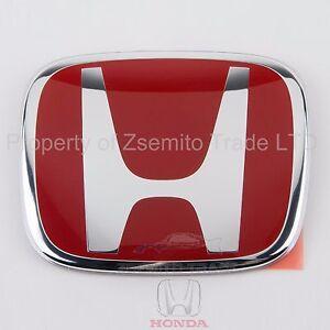 Honda Accord Type R REAR EMBLEM JDM H Red Genuine OEM 75701-S1A-E11ZB Badge ATR