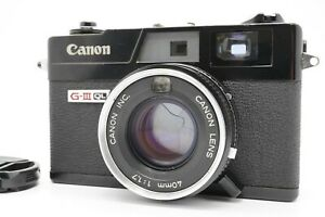 [EXC+5 CLA'd] Canon Canonnet QL17 G-III Black Rangefinder 40mm f/1.7 From Japan
