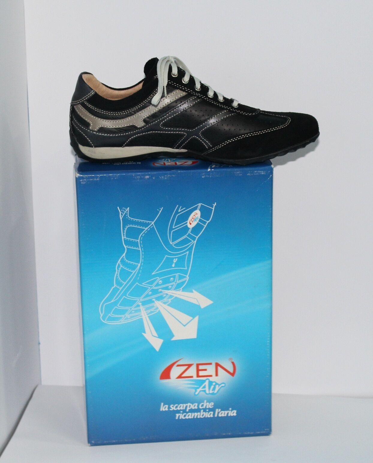 Scarpa da uomo ZEN AIR la scarpa che ricambia l'aria colore nero art. 275003