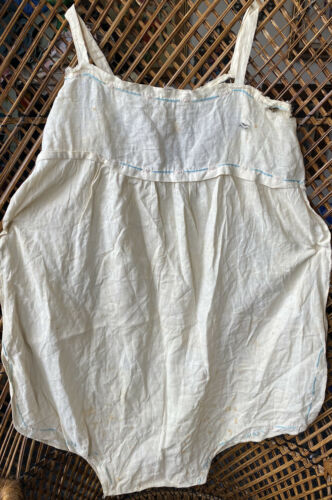 Vintage Antique 1920s 1930s Handmade  Embroidered