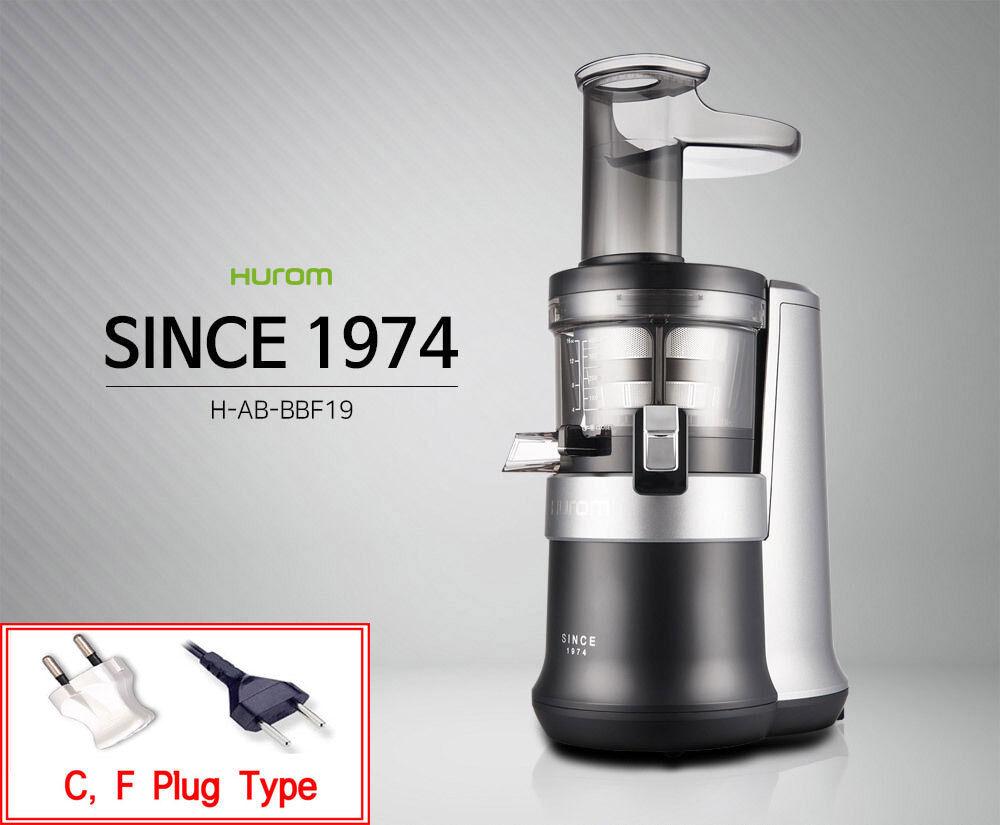 nouveau HUROM ALPHA PLUS Juicer H-AB-BBF19 Fresh Juice Extractor 220V