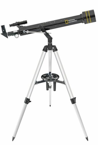TELESCOPIO NATIONAL GEOGRAPHIC AZ RIFRATTORE 60//700 SOFTWARE PLANETARIO INCLUSO