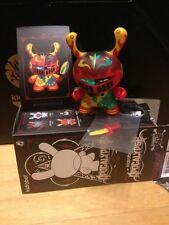 Kidrobot Dunny 2012 Apocalypse vinyl figure Dragon Knight by Patricio Oliver