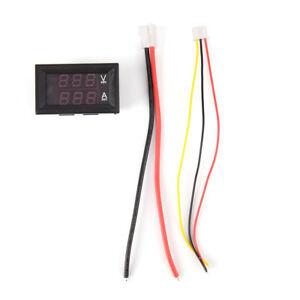 DC-0-100V-10A-Dual-LED-Voltmetro-digitale-Amperometro-Voltaggio-Alimentatore-APQ